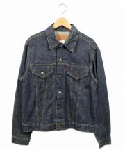 LEVIS(リーバイス)の古着「4thデニムジャケット」|インディゴ