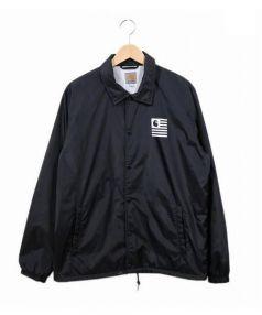 Carhartt(カーハート)の古着「ナイロンジャケット/コーチジャケット」 ブラック