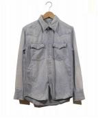VISVIM(ビズビム)の古着「デニムシャツ」|ブルー