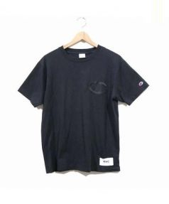 RHC Ron Herman×Champion(アールエイチシー ロンハーマン×チャンピオン)の古着「Tシャツ」|ブラック
