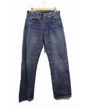 LEVIS VINTAGE CLOTHING(リーバイス ヴィンテージ クロージング)の古着「復刻セルビッチデニムパンツ」|インディゴ
