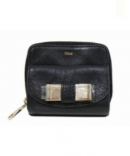 Chloe(クロエ)の古着「財布/リリースクエアジップウォレット」 ブラック