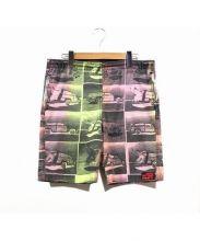 JIMMY'Z(ジミーズ)の古着「80'sマルチカラーカープリントショートパンツ」|マルチカラー