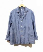 KAPTAIN SUNSHINE(キャプテンサンシャイン)の古着「シャンブレーカバーオールジャケット」|ブルー