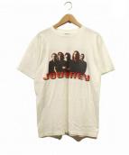 バンドTシャツ(バンドTシャツ)の古着「〔古着〕90's JORNEY バンドTシャツ」|ホワイト