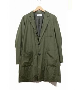 UNUSED(アンユーズド)の古着「コットンチェスターコート」|オリーブ