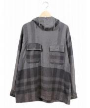 Engineered Garments(エンジニアードガーメンツ)の古着「プルオーバーパーカー/Cagoule Shirt 」|グレー