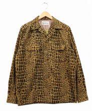 WACKO MARIA(ワコマリア)の古着「オープンカラーコーデュロイシャツ」|ブラウン