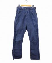 Wrangler(ラングラー)の古着「ヴィンテージデニムパンツ/11MWZ」|インディゴ
