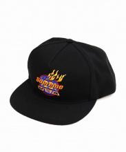 Supreme(シュプリーム)の古着「Fire 5Panel/5パネルスナップバックキャップ」|ブラック