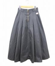 DANTON(ダントン)の古着「ロングスカート」|グレー