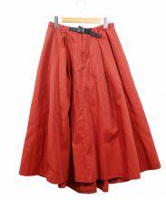 GRAMICCI(グラミチ)の古着「クライミングスカート」|オレンジ