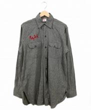 BIG MAC(ビッグマック)の古着「ブラックシャンブレーシャツ」