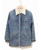 Wrangler(ラングラー)の古着「[古着]70'sボアランチコート」|インディゴ