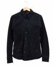 ISAMU KATAYAMA BACKLASH(イサムカタヤマバックラッシュ)の古着「カウレザーレザーシャツ」