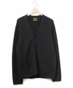 COOTIE(クーティ)の古着「アルパカカーディガン」 ブラック