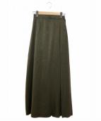 TRUNO by NOISE MAKER(トルノバイノイズメーカー)の古着「切替プリーツ花柄マキシスカート」