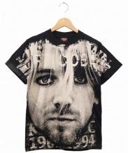 Kurt Cobain/NIRVANA(カートコバーン/ニルヴァーナ)の古着「ヴィンテージバンドTシャツ」