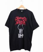 Adorned Brood(アドーン ブラッド)の古着「90'sバンドTシャツ」 ブラック