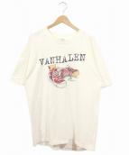 バンドTシャツ(バンドTシャツ)の古着「〔古着〕90'sVANH HALENバンドTシャツ」|ホワイト