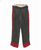 Black Weirdos(ブラック ウィドゥ)の古着「Saddam Bowling-Pants」|グレー