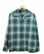 N.HOOLYWOOD(エヌハリウッド)の古着「開襟チェックシャツ」
