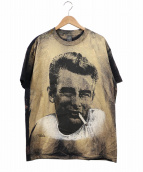 JAMES DEAN(ジェームス・ディーン)の古着「80s総プリントTEE」