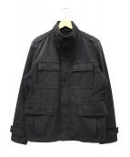 HUGO BOSS(ヒューゴボス)の古着「ミリタリージャケット」 ブラック