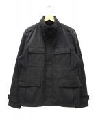 HUGO BOSS(ヒューゴボス)の古着「ミリタリージャケット」|ブラック