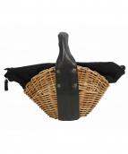 ebagos(エバゴス)の古着「オイルドショルダー帽体カゴバッグ」