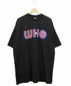 THE WHO(ザ・フー)の古着「ヴィンテージバンドTシャツ」 ブラック