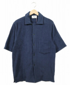 Acne studios(アクネストゥディオズ)の古着「パイル地S/Sシャツ」