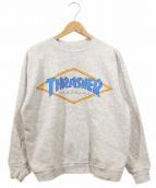 THRASHER(スラッシャー)の古着「ダイヤロゴスウェット」|グレー