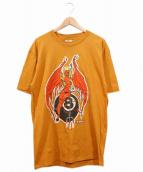 KOZIK(コジック)の古着「90'sバンドTシャツ」 オレンジ