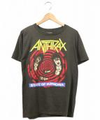 ANTHRAX(アンスラックス)の古着「80'sバンドTシャツ」