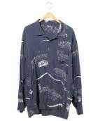 PORTER CLASSIC(ポータークラシック)の古着「AROHA LONG SHIRT/L/Sアロハシャツ」
