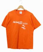 バンドTシャツ(バンドTシャツ)の古着「[古着]90'sK RECORDSレーベルTEE」|オレンジ