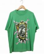 Ruff ryders(ラフ・ライダーズ)の古着「HIP-HOPレーベルTEE」|グリーン