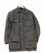 Belstaff(ベルスタッフ)の古着「オイルドジャケット」|ブラウン