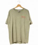 ラップTシャツ(ラップTシャツ)の古着「[古着]90's染込みBOB MARLEYTEE」|オリーブ