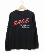 SUB-AGE.(サベージ)の古着「長袖Tシャツ」|ブラック