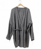 Marea Erre(マレアエッレ)の古着「作務衣カットオフコート」 グレー