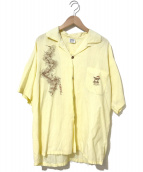 HAWAIIAN SURF(ハワイアンサーフ)の古着「[古着]ヴィンテージハワイアンシャツ / アロハシャツ」|イエロー