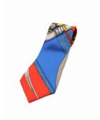 HERMES(エルメス)の古着「スカーフ柄シルクネクタイ」 マルチカラー
