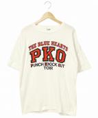THE BLUE HEARTS(ザ・ブルーハーツ)の古着「90'sバンドTシャツ」 ホワイト