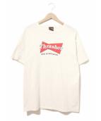 THRASHER(スラッシャー)の古着「[古着]プリントTシャツ」|ホワイト