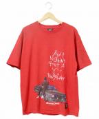 ラップTシャツ(ラップTシャツ)の古着「[古着]90's SNOOP DOG Tシャツ」|レッド