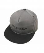 DESCENDANT(ディセンダント)の古着「パネルキャップ」|グレー