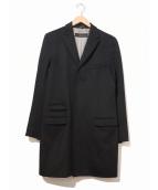 DSQUARED2(ディースクエアード)の古着「メルトンチェスターコート」|ブラック