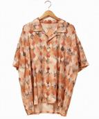 IROQUOIS(イロコイ)の古着「開襟パターンシャツ」|レッド×ブラック